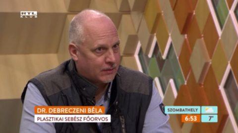 Elrontott mellplasztikai műtétek RTL Klub Reggel